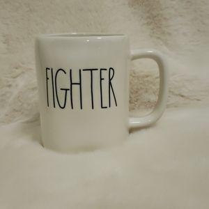 Rae Dunn Fighter Mug NWT Artisan Collection